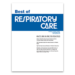 The Best of RESPIRATORY CARE: 2014 New Horizons Symposium