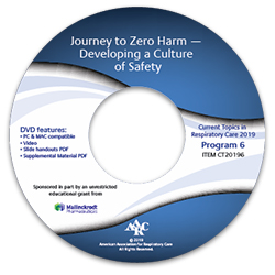 CT20196 Journey to Zero Harm – Developing a Culture of Safety
